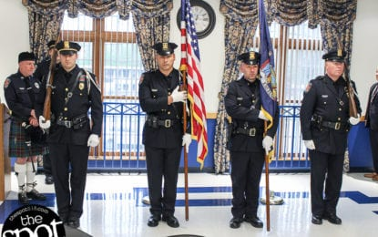 SPOTTED: The Colonie Police Awards Ceremony