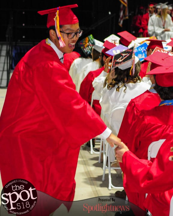 SPOTTED: Guilderland Central graduation, June 24, 2017