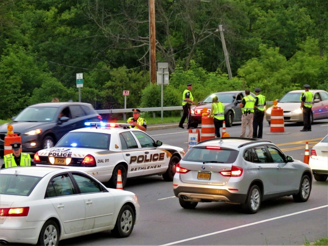 10 arrested during county-wide DWI checkpoint sweep