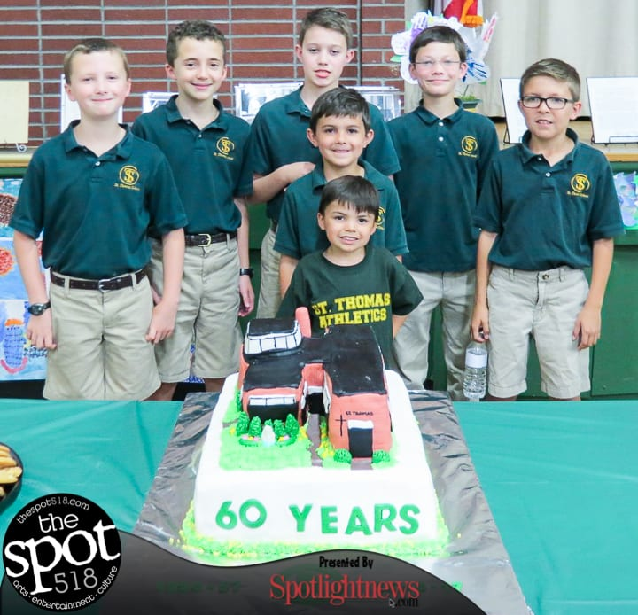 SPOTTED: St. Thomas The Apostle celebrates 60 years
