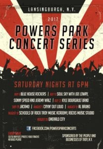 Powers Park Concerts: Nick Coluccio @ Powers Park  | Troy | New York | United States