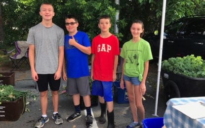 BCMS Garden Club grows