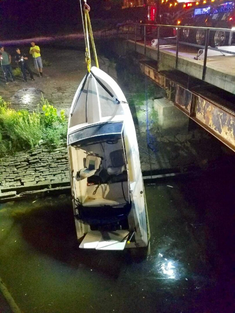 Hudson River boater allegedly drunk
