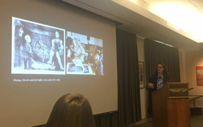 Clark Art curator lectures on Picasso, his muses and artistic collaborations