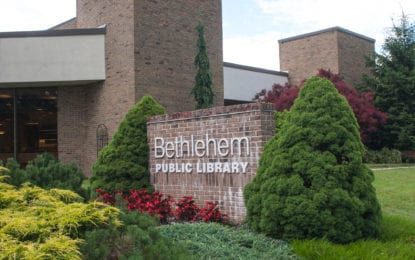 BETHLEHEM LIBRARY: Having study hall