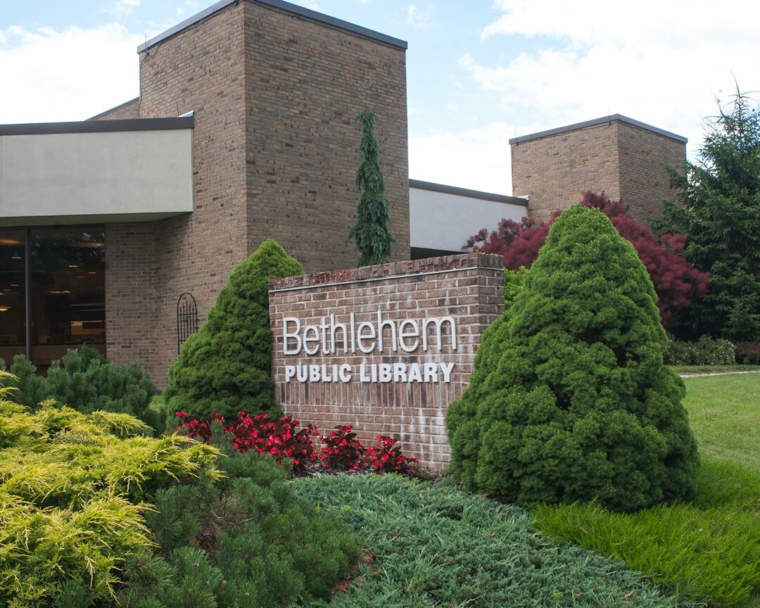 BETHLEHEM LIBRARY: The Friends are holding a book sale
