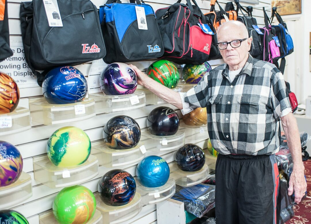 Bob Daubney celebrates 60 years in bowling, billiards (poker and darts) business