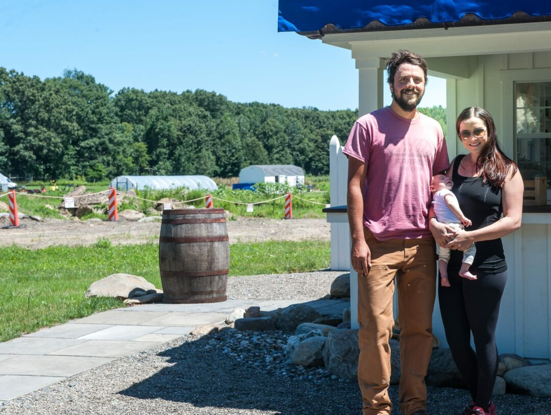 Colonie couple traded NYC chef careers to start a farm on Forts Ferry Road, and have no regrets