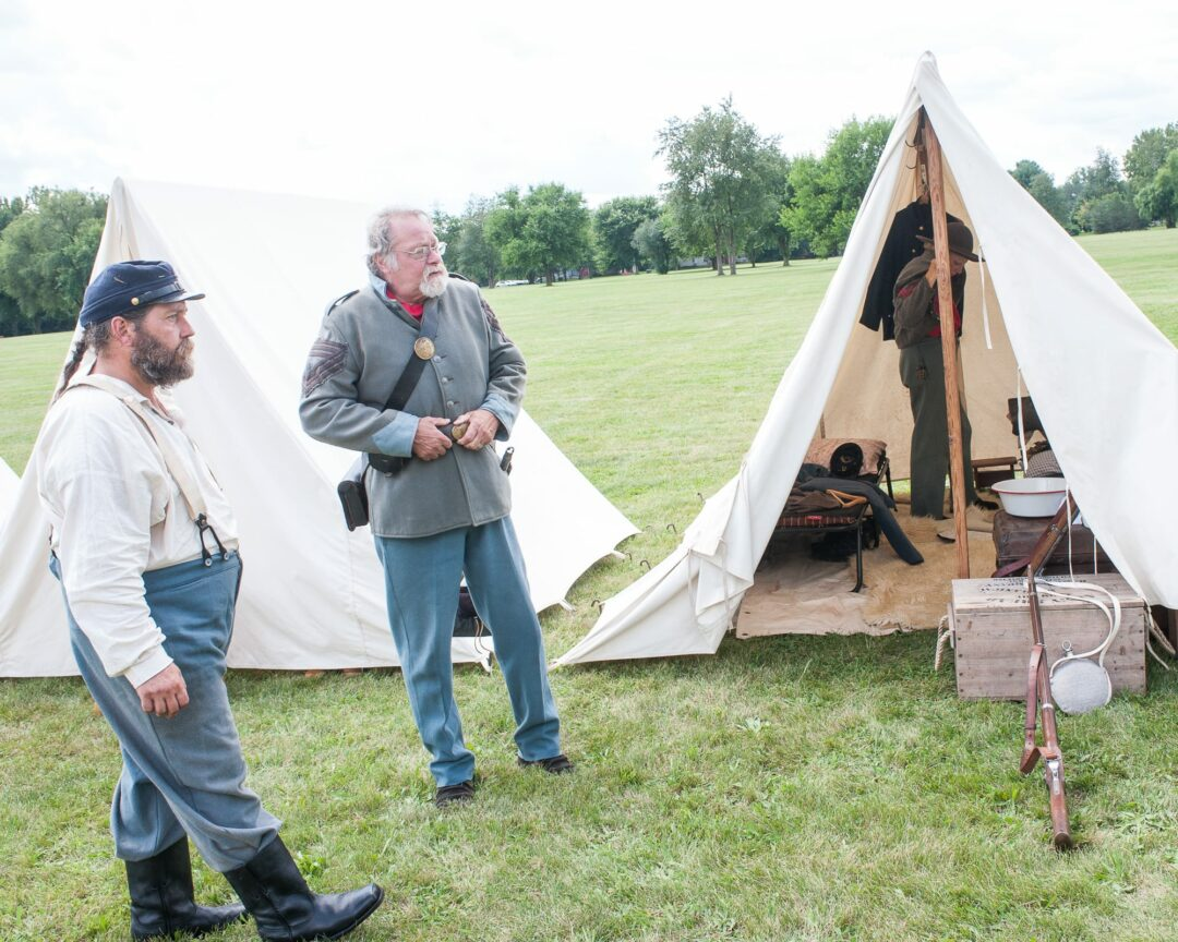 Civil War reenactment opens discussion about current events