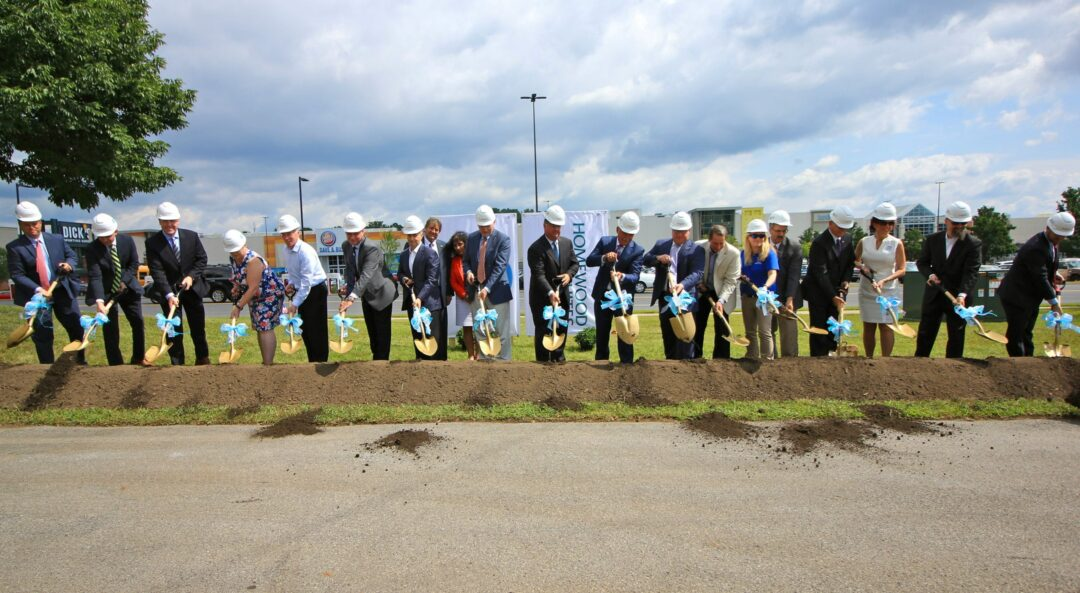 Two Hilton brands come together, break ground at Crossgates Mall