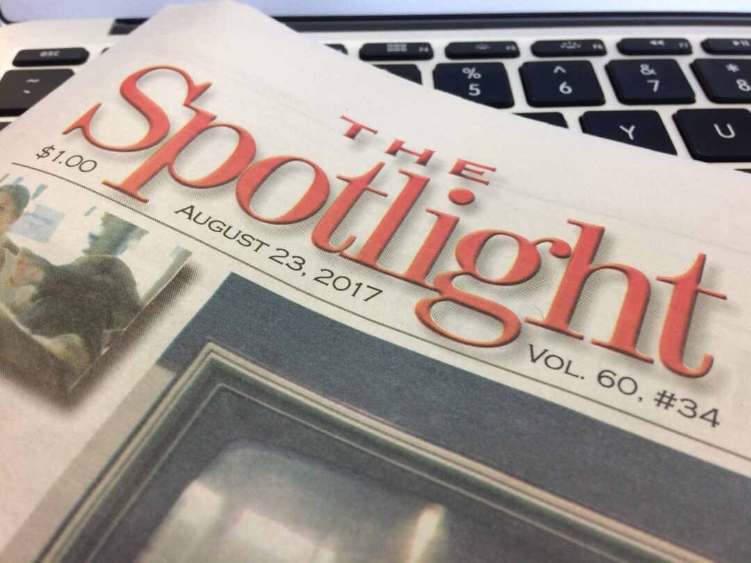 Delmar PO has not received copies of The Spotlight