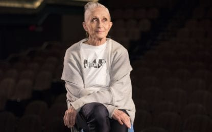 RECENTLY ANNOUNCED: Dance icon Twyla Tharp in Catskills