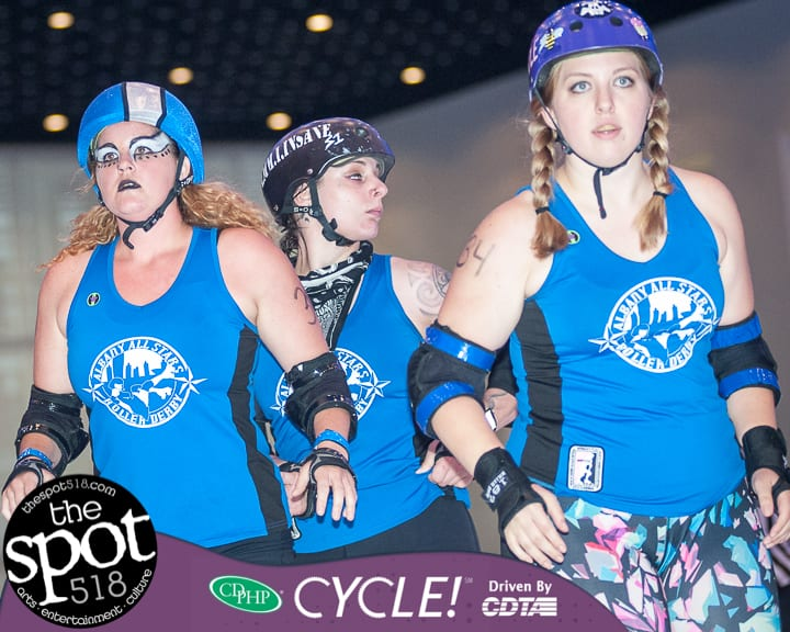 SPOTTED: The Albany All Stars Roller Derby team skates against Philly