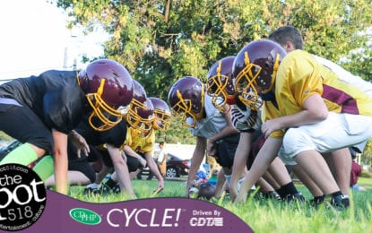 SPOTTED: Colonie Pop Warner