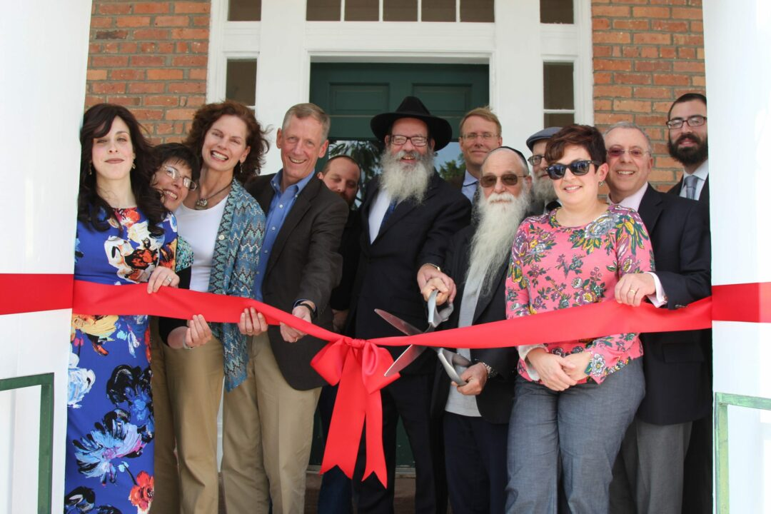 Chabad officially moves into new, historic home