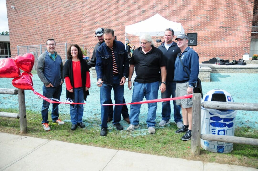 Curtain rises on BCMS' new outdoor stage