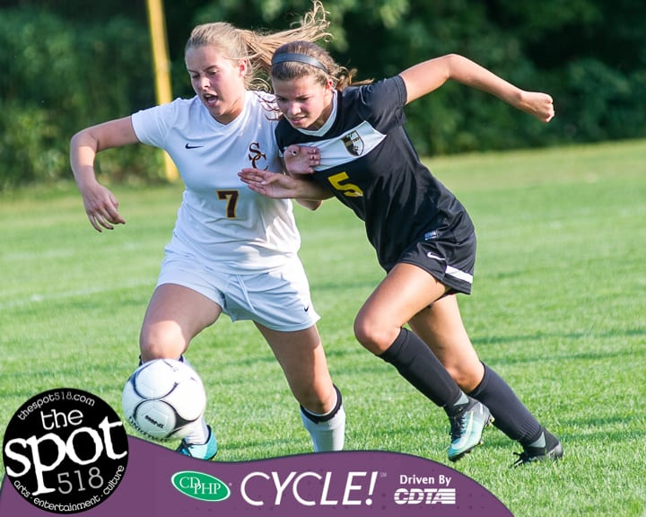 SPOTTED: Colonie girls drop one at home to Ballston Spa