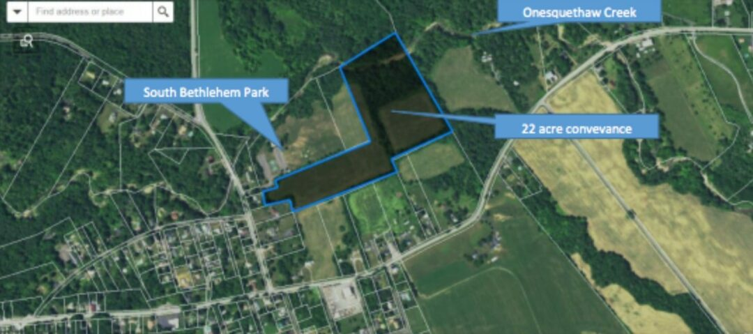Tennessee Gas gives 22 acres in South Bethlehem to the town