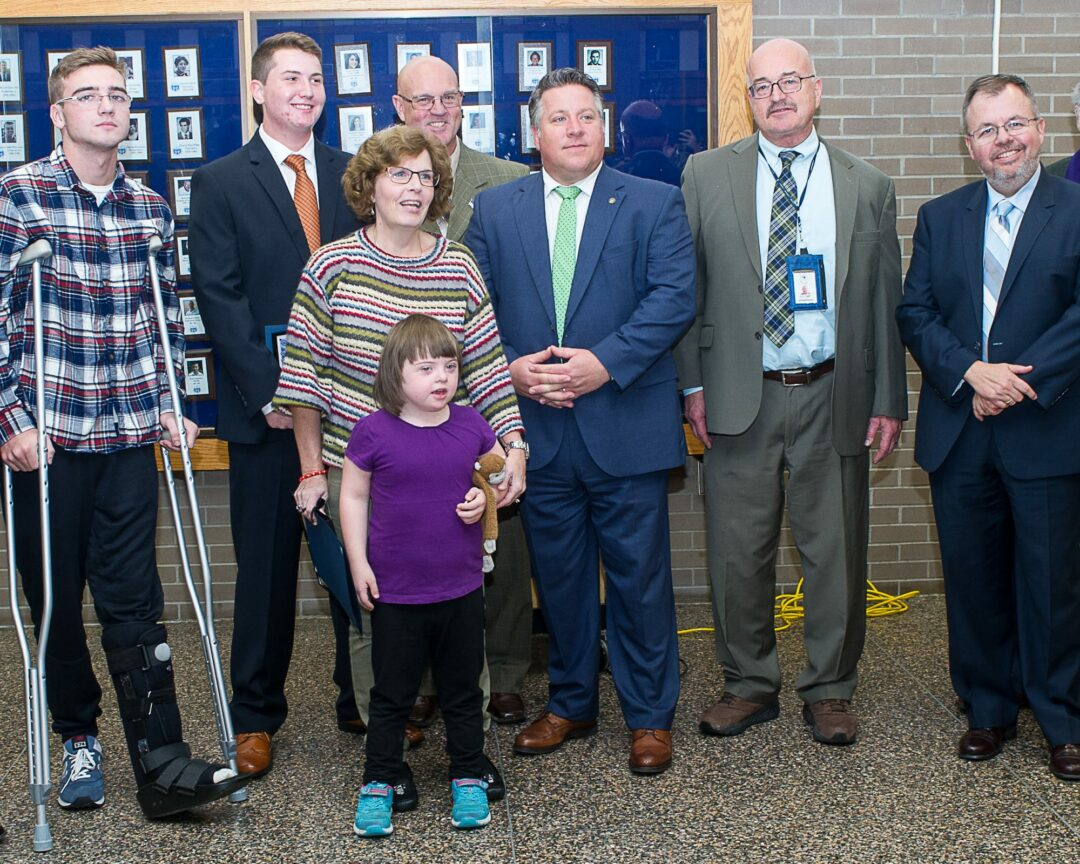 Shaker students honored for saving a little girl's life (w/photo gallery)