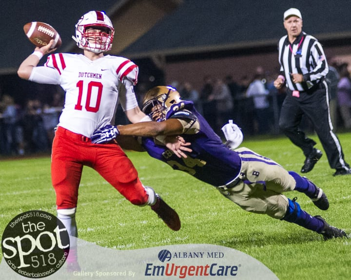 SPOTTED: Guilderland dominates CBA, 27-0