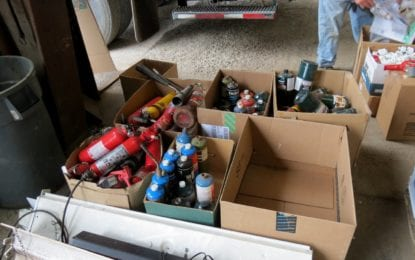 Households drop off tens of thousands of pounds of hazardous waste for Delmar safe disposal/recycling (w/photo gallery)
