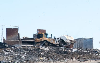 Two towns oppose Colonie landfill expansion; trash is a campaign issue