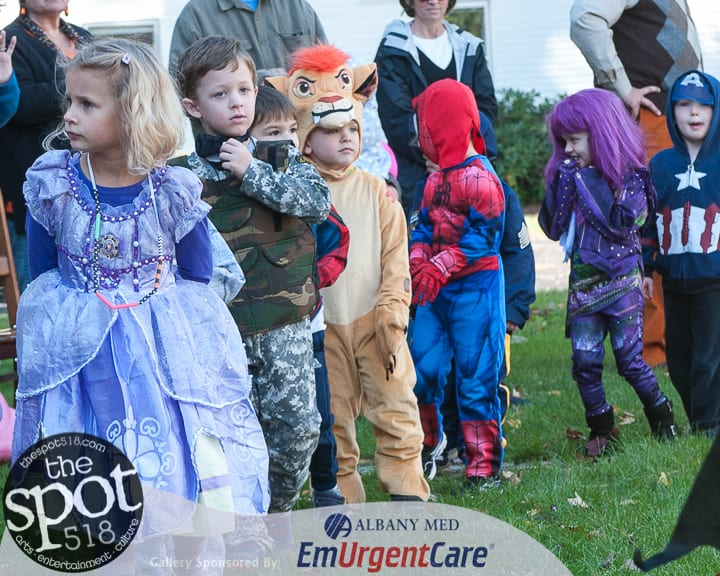SPOTTED: The Tri-Village Nursery School Halloween Parade
