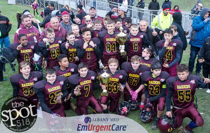 SPOTTED: Colonie Pop Warner are Super Bowl champs