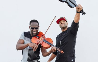 Black Violin comes to Troy Music Hall on April 13