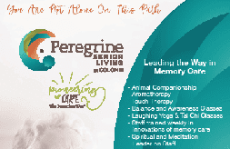 The Peregrine Senior Living Center leads the way in memory care