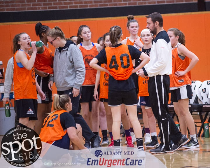 SPOTTED: Bethlehem girls practice up against Penfield