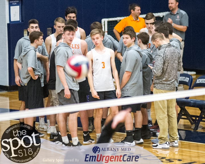 SPOTTED: Bethlehem boys fall to Shen in three sets