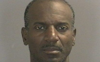 William Lacy busted for panty raid