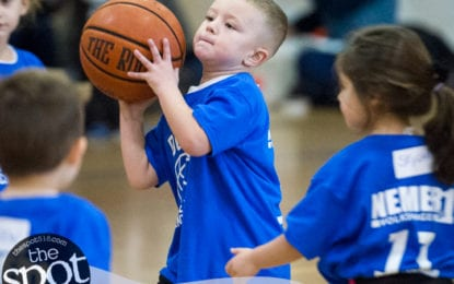 """SPOTTED: Opening day of """"Slam Dunk"""" basketball at the Ciccotti Center"""