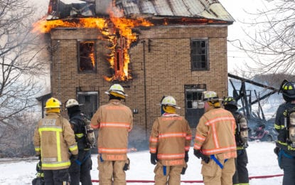 Fire destroys Slingerlands home; elderly occupant airlifted to Westchester burn unit (w/photo gallery)