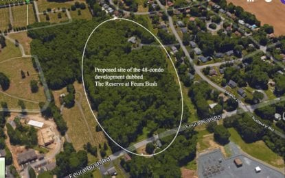 Reserve at Feura Bush | Vote on whether to rezone a Glenmont property for 48 condos not expected this year, if ever