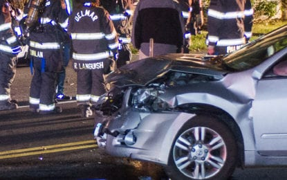 Kenwood Avenue accident sends three to hospital