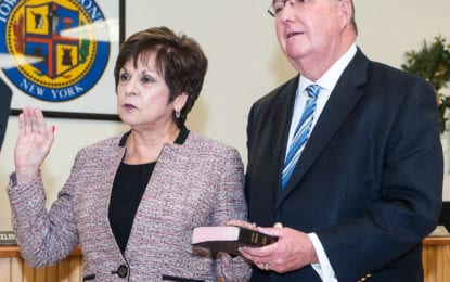 Colonie officials take the oath (w/photo gallery)