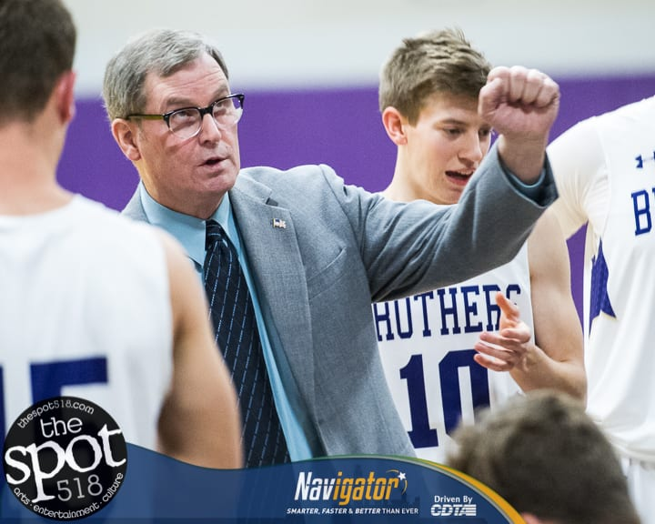 SPOTTED: CBA Basketball Holiday Tournament with photos of CBA and Bethlehem