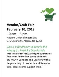 Vendor/Craft Fair @ Ancient Order of Hibernians Hall | Houghton Lake | Michigan | United States