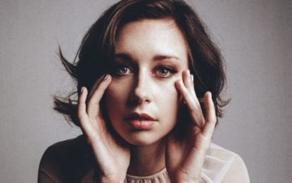 Lera Lynn has fun showing fans she's not as gloomy as you think she is