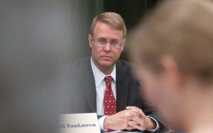 New Bethlehem Supervisor David VanLuven is focused on services, finances and government accountability