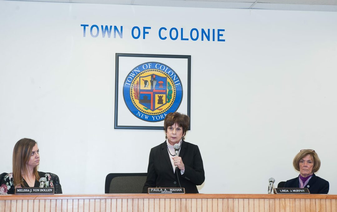 The State of Colonie: 'On solid ground'