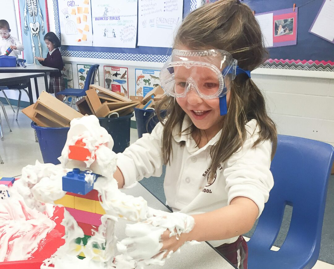 Saint Gregory provides building blocks to success through STEM