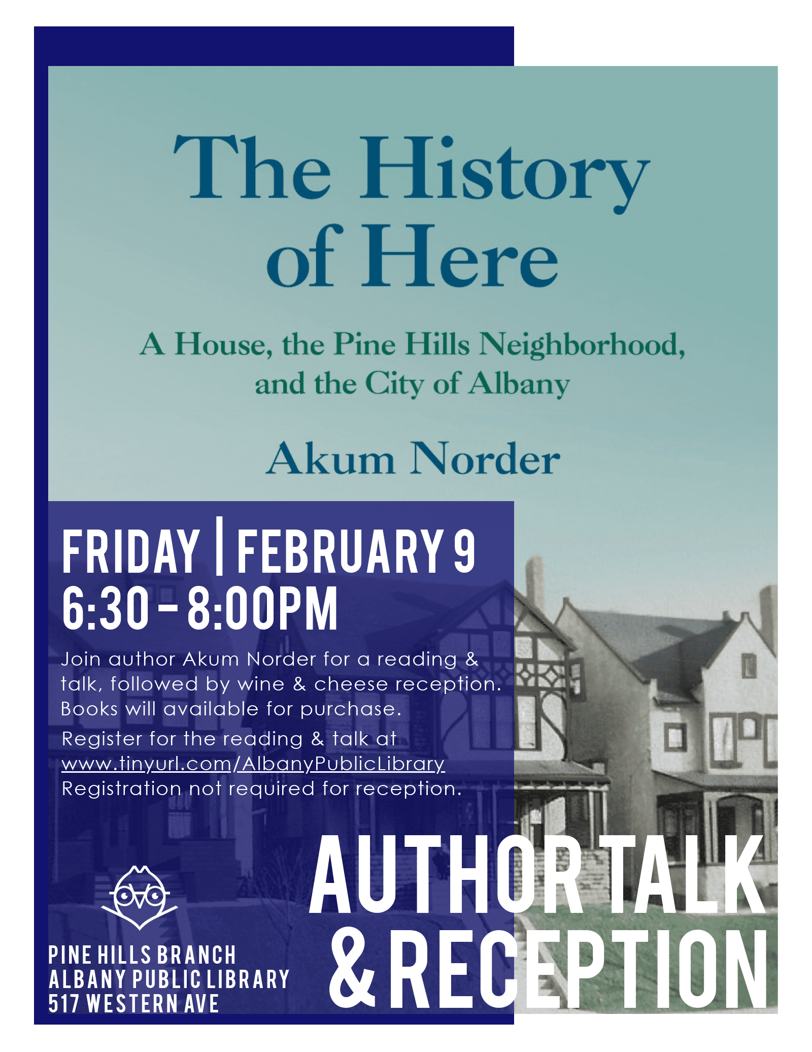 """The History of Here"" Author Talk"