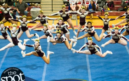 SPOTTED: Colonie, Guilderland cheerleaders win Section II titles