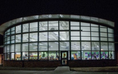The ribbon is cut at Roessleville's new library (w/photo gallery)