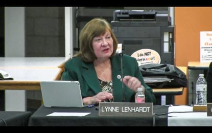 Lynne Lenhardt to leave BCSD board