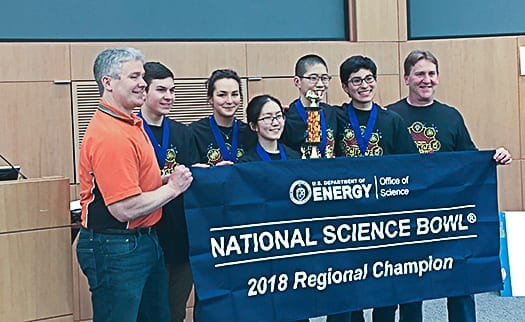 BCHS teams dominate regional science bowl
