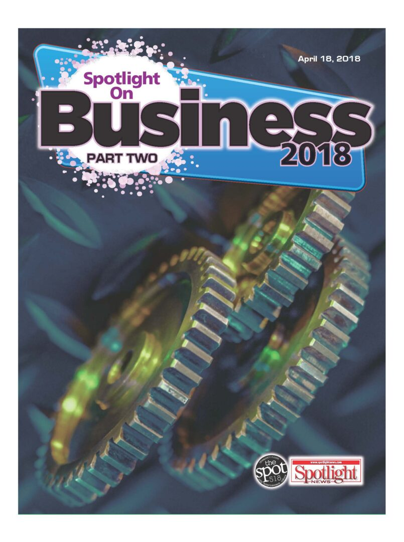 2018 April – Spotlight on Business – Flipbook